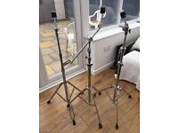 3 x Cymbal Stands