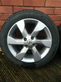 "Nissan note 16"" alloy wheels 4x100"