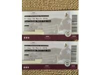 2 Cheltenham Gold Cup Tickets - Tattersalls Enclosure