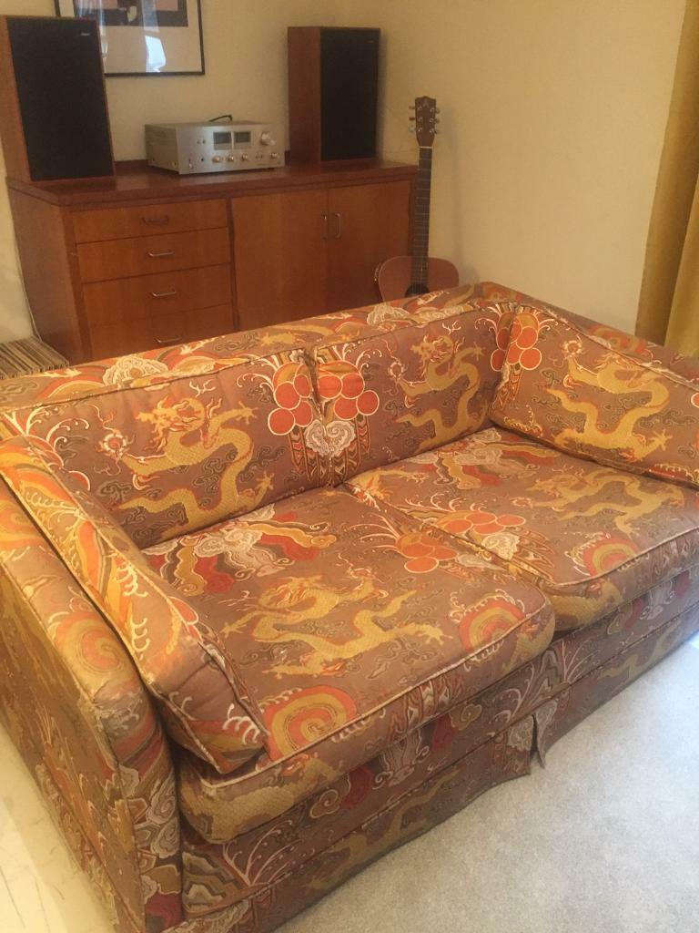Tremendous Stunning Bold Retro Liberty Print 70S 2 Seater Sofa Settee In Gloucester Road Bristol Gumtree Gmtry Best Dining Table And Chair Ideas Images Gmtryco