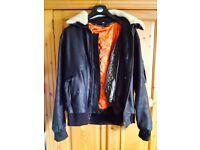 Leather Aviator's Jacket