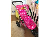 Mamas & Papas double dolls stroller