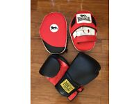 FXR Sports PAIR OF MINI CURVED FOCUS PADS BOXING MMA