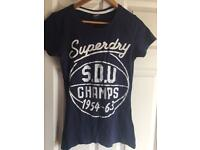 Women's small Superdry tee