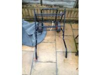 Fishing barrow black good condition