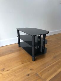 Black TV table for sale