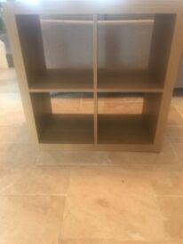 Wooden storage/shelving unit