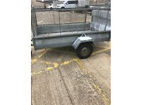7x4 trailer with ramp door
