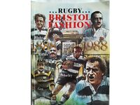 Rugby Bristol Fashion by Chris Ducker - Signed by Author