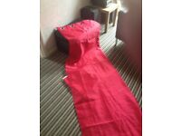 red 66 x 90 curtains from next