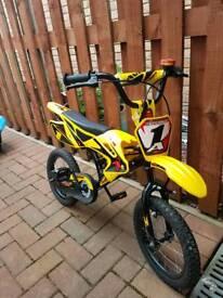 Boys 14 inch bike