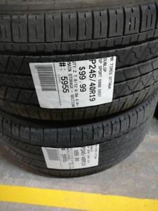 245/40/19 Dunlop SP Sport 5000 DSST *RUNFLAT* (All Season)