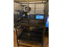 Large small animal cage.