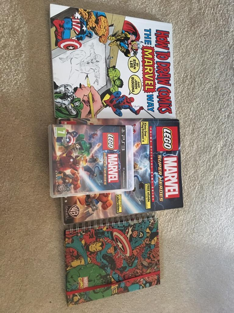 Marvel Ps3 Game And Drawing Bundle Ex Cond In Dunfermline Fife