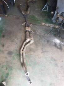 Bmw522i full exhaust system