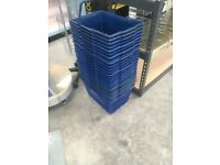 Single Handle Plastic Shopping Basket