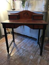 Antique Mahogany Desk Aesthetic Movement