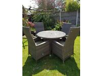 Hartman Rattan Garden Furniture 4 Seater