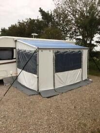 Fiamma 360 Caravanstore Zip Privacy Room and Canopy