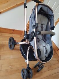 2Orb 2 in 1 pram and buggy in one , suits from birth to 3 years .