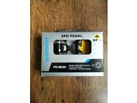 Shimano SPD pedal PD-M520. New - never used.