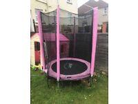 Pink Plum trampoline
