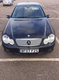 Mercede Benz C220 Cdi sport coupe 3 door