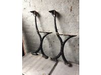 Walter Macfarlane & Co Glasgow Victorian Cast Iron Bench Ends Bandstand Bench call me for info