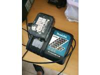 makita charger 18v with battery