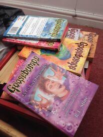 Goosebumps books (set of over60)
