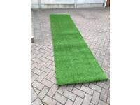 Artificial grass strip