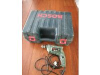 BOSCH planer and drill