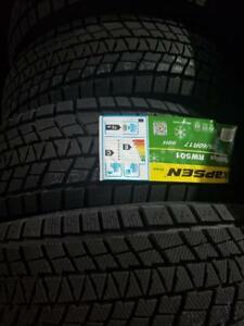 4 winter tires icemax new 225/60r17 neufs