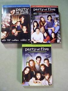 DVD'S-PARTY OF FIVE Edmonton Edmonton Area image 1