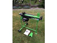 Handy 6 tonne electric log splitter and stand