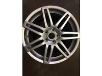 Audi A3 alloy wheel for sale only got one 7.5x18 £140 call 07860431401
