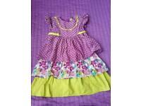 Girls dress size 3years 98 cm