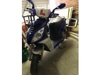 50cc scooter low miles 13 plate