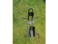 Heavy duty motorbike lock