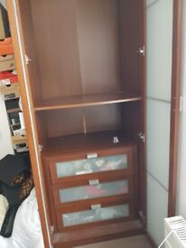 Free ikea wardrobe and drawers