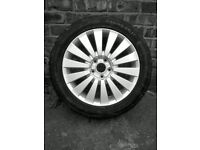 "VW Passat 17"" Alloy wheel and Tyre Brand New"
