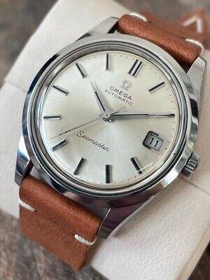 Omega Seamaster Automatic Vintage Men's Watch 1969, Serviced + Warranty