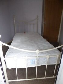 as new single bed