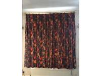 Made to measure lounge curtains