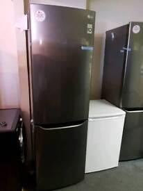 LGGBB39DSJZ 70/30 Fridge Freezer - Dark Steel *New*