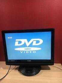 22 inches tv built in DVD Player