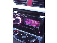 Sony double din top or the range car CD player USB Bluetooth