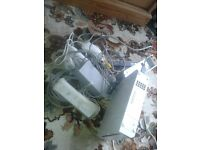 WII NINTENDO CONSOLE INC CONTROLLERS AND ALL CABLES, GOOD WORKING ORDER