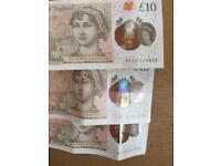 10£ note new