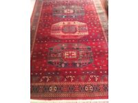 "Quality Large Traditional Rug 68"" x 92"" Bought 1 year ago for £320 New Condition"